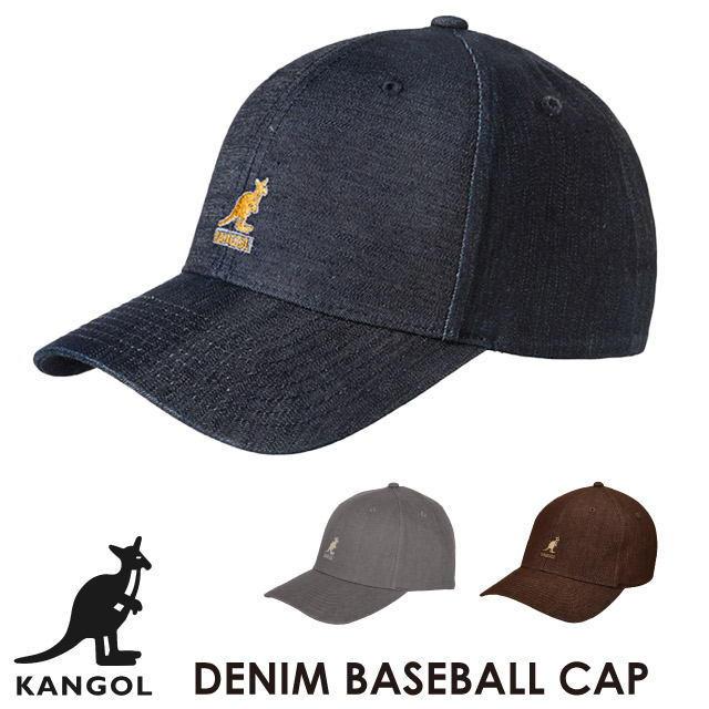 f45d3b5714a Perception goal KANGOL denim baseball cap DENIM BASEBALL hat hat saliva  brand logo kangaroo men gap Dis is unisex