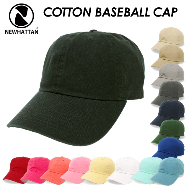 c84063d9bb7 New Hatten NEWHATTAN cotton base ball cap COTTON BASEBALL CAP wash STONE  WASH mens Womens Unisex (1400)