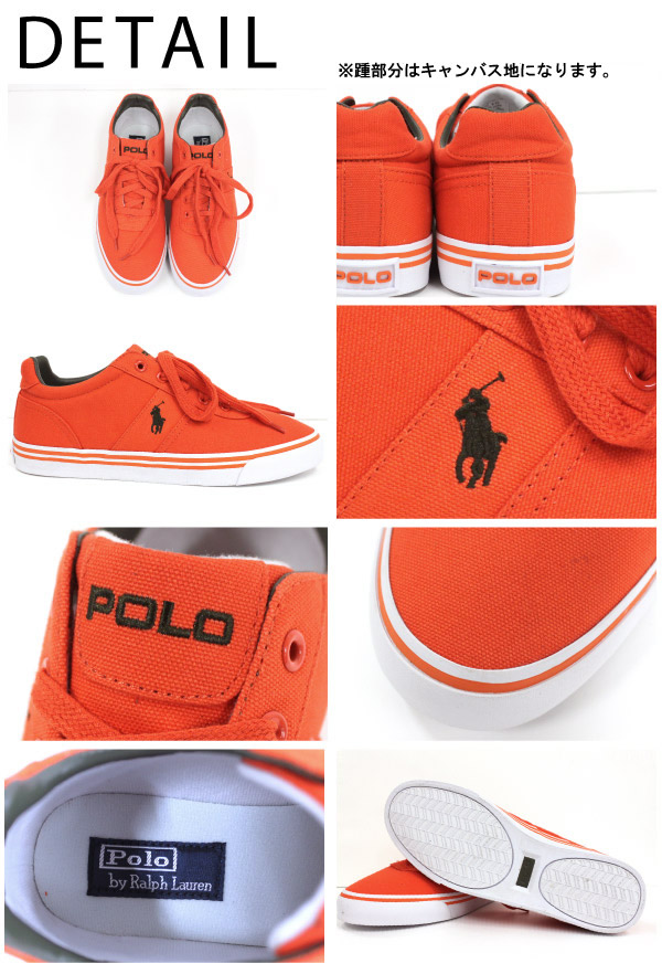 Polo Ralph Lauren mens POLO Ralph Lauren MENs HANFORD CANVAS SNEAKER canvas  sneakers low cut pony embroidered men\u0027s (816151780)