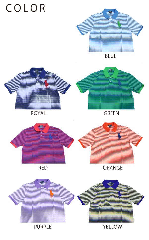 ?? ??????? ???? Polo Ralph Lauren BOYS Big Pony Polo Shirt ??? ????????????