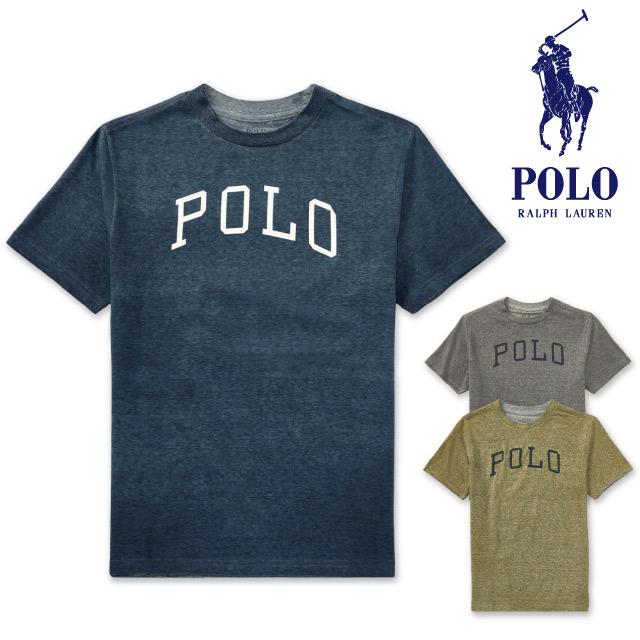 a90a3ccd Polo Ralph Lauren Boys POLO Ralph Lauren BOYS logo graphic cotton short  sleeves T-shirt ...