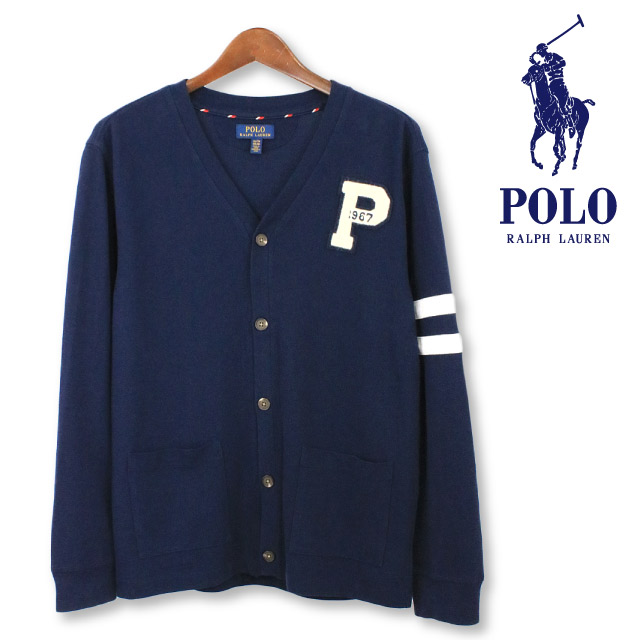 43c08406d0d0 Polo Ralph Lauren Boys cotton mesh college one point cardigan POLO Ralph  Lauren BOYS fawn mesh line pattern pony logo embroidery men man haori school