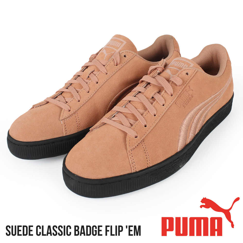 The size that Puma PUMA men sneakers Suede Classic Badge Flip 'EM suede classic stylish individual low frequency cut brand shoes suede cloth shoes