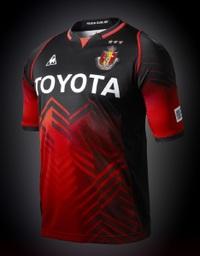 ルコック QH-74013GR 2013 名古屋グランパス Jリーグ 20周年記念 限定 オーセンティック 半袖 ゲームシャツ QH74013GR