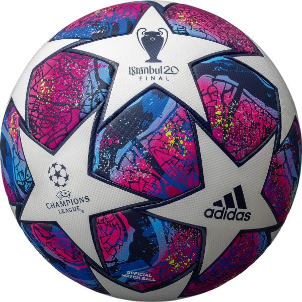アディダス AF5400IS フィナーレ イスタンブール UEFA チャンピオンズ リーグ  2019-20 試合球 サッカー ボール 5号