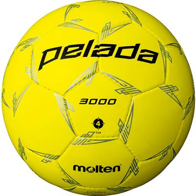 モルテン F4L3000-L-6 6球セット F4L3000-L ペレーダ3000 手縫い 蛍光イエロー サッカー ボール 4号球