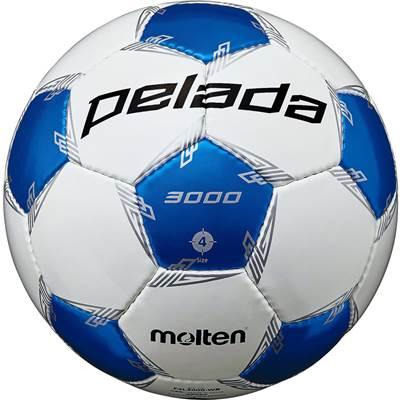 モルテン F4L3000-WB-6 6球セット F4L3000-WB ペレーダ3000 手縫い ホワイト×メタリックブルー サッカー ボール 4号球