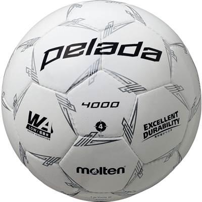 モルテン F4L4000-W-6 6球セット F4L4000-W ペレーダ4000 手縫い ホワイト サッカー ボール 4号球