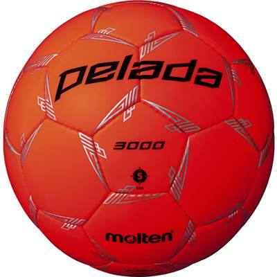 モルテン F5L3000-O-6 6球セット F5L3000-O ペレーダ3000 手縫い 蛍光オレンジ サッカー ボール 5号球