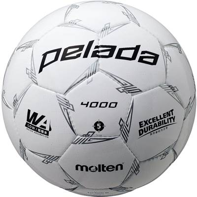 モルテン F5L4000-W-6 6球セット F5L4000-W ペレーダ4000 手縫い ホワイト サッカー ボール 5号球