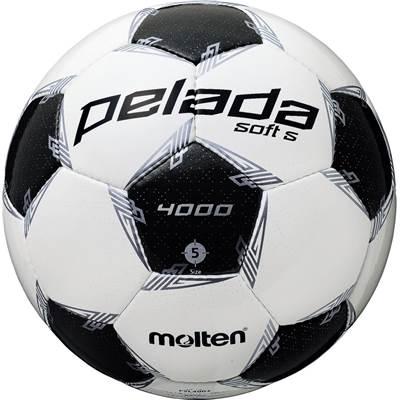 モルテン F5L4002-6 6球セット F5L4002 ペレーダ4002 手縫い ホワイト×メタリックブラック サッカー ボール 5号球