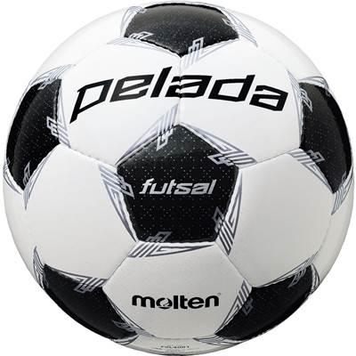モルテン F9L4001-6 6球セット F9L4001 ペレーダフットサル4000 手縫い ホワイト×メタリックブラック フットサル ボール 4号球