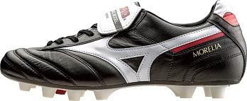 [ミズノ]モレリアII(サッカー)ブラック×ホワイト 天然皮革(スコッチガードカンガルー)日本製 モレリア2 p1ga150101 サッカー スパイク シューズ 箱なしでお届けする場合があります。