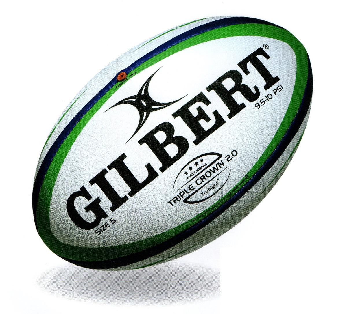 ギルバート GB-9181 情熱セール トリプルクラウン2.0 ラグビー 5号 ボール 蔵