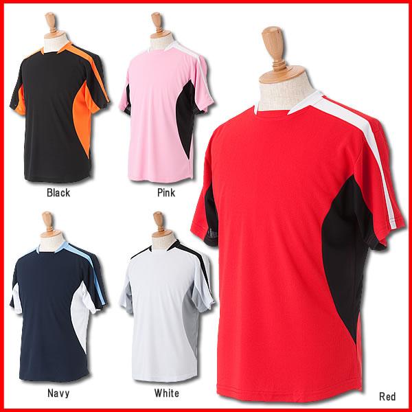 ■オリジナルサッカーシャツ■チームオーダーユニフォーム■全5色■ポリエステル100%■マーキング可■1枚からOK■サイズ S~XL■激安サッカーユニフォーム■クラスTシャツ、バレーボールユニフォームにも