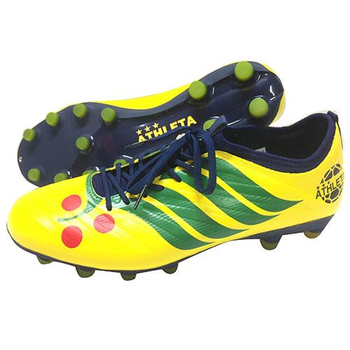 アスレタ ATHLETA CDB Futebol A001 サッカースパイク シューズ Fイエロー×ネイビー 20001 2990