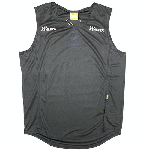 アスレタ ATHLETA ノースリーブインナーシャツ オンライン限定商品 35%OFF ブラック サッカー フットサル 01081 70 インナーシャツ