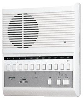 [ LEF-10 ] アイホン 交互通話式 複合式インターホン10局用 【親機】 [ LEF10 ]