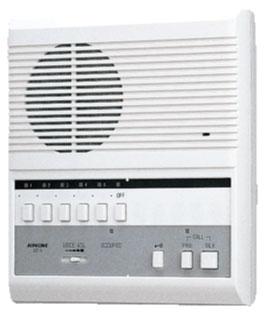 [ LEF-5 ] アイホン 交互通話式 複合式インターホン5局用 【親機】 [ LEF5 ]