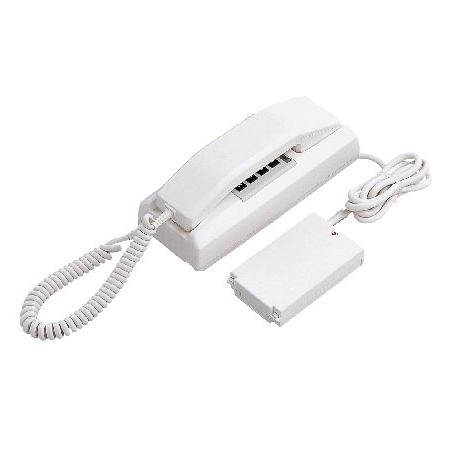 [ YAZ-90-2AW ] アイホン 共通線式 同時通話インターホン 90局用 2通話路式 卓上型親機 [ YAZ902AW ]