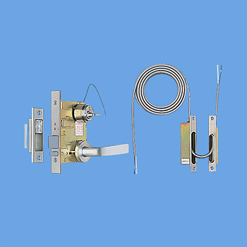 [ EK3712 ] パナソニック 電気錠 玄関扉用 レバーハンドル付電気錠ML型(V18シリンダー) セット [ EK3712 ]