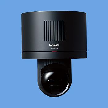 [ WQD832B ] Panasonic パナソニック電工 テレビドアホン 住まいるサポ センサー付カメラ子器(壁付専用) 【電源直結式】 (オフブラック) [ WQD832B ]