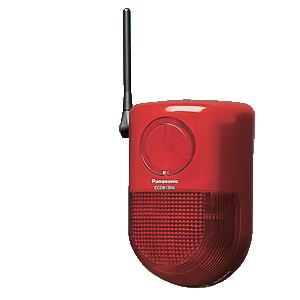[ ECD6130K ] パナソニック 「マモリエ」 警報ランプ付ブザー受信器(屋側用) 防雨形 【電源直結式】 [ ECD6130K ]