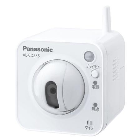 【送料無料】[ VL-CD235 ] パナソニック センサーカメラ(屋内タイプ)Wi-Fi対応 [ VLCD235 ]