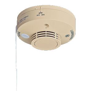 [ SHK284271Y ] パナソニック 住宅用火災警報器 露出型 AC100V式 連動型 【あかり付 子器】「けむり当番」(和室色) [ SHK284271Y ]