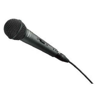[ WM-D170SW-K ] Panasonic パナソニック 有線マイクロホン (ボーカル用) マイクケーブル・マイクホルダー付属 [ WMD170SWK ]