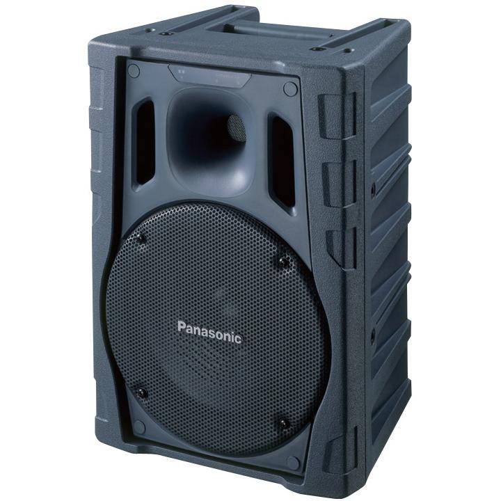 【送料無料】[ WS-X77 ] Panasonic パナソニック 800MHz帯ポータブルワイヤレス パワードスピーカー 60W (2波内蔵) [ WSX77 ]