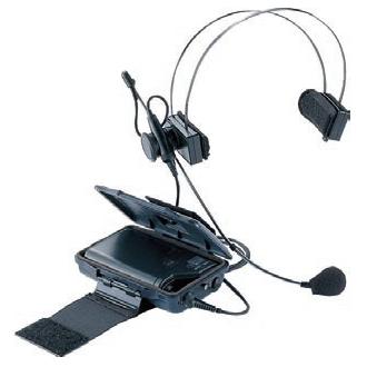 【送料無料】[ WX-4370B ] Panasonic パナソニック 800MHz帯 ヘッドセット形(インストラクター用)ワイヤレスマイク [ WX4370B ]