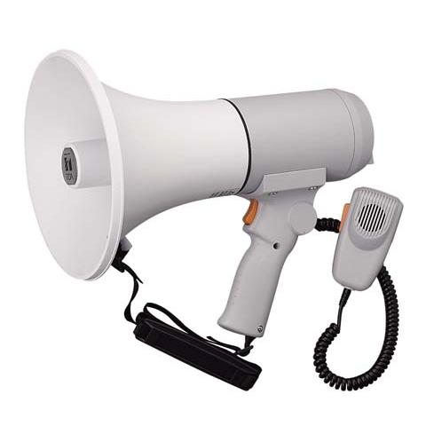 [ ER-3115 ] TOA メガホン 拡声器 ハンド・ショルダー兼用 中型メガホン 15W [ ER3115 ]