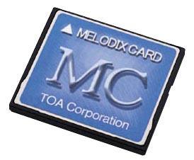 【送料無料】[ MC-1010 ] TOA メロディクスカード (学校向け) [ MC1010 ]