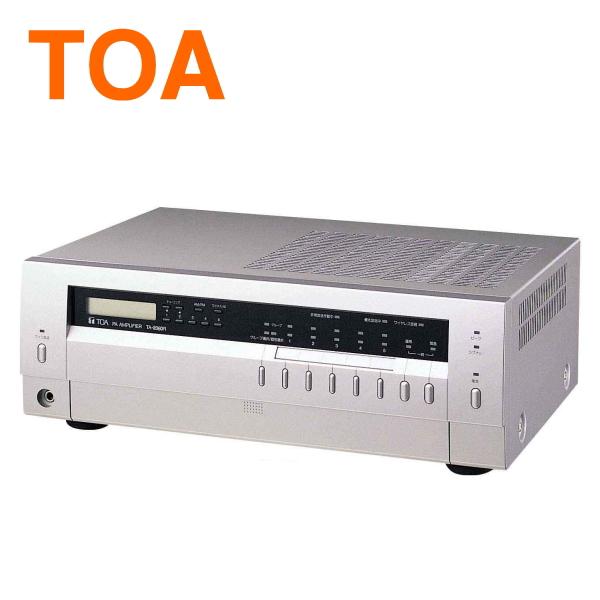 【送料無料】[ TA-2060R ] TOA PAアンプ 卓上型アンプ 60W AM/FM ラジオ付 [ TA2060R ]