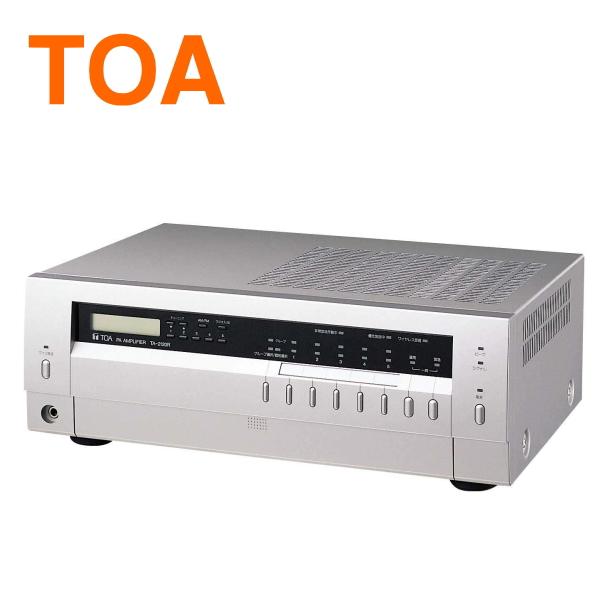 【送料無料】[ TA-2120R ] TOA PAアンプ 卓上型アンプ 120W AM/FM ラジオ付 [ TA2120R ]