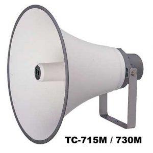 [ TC-730AM ] TOA ホーンスピーカー コンビネーションタイプ ホーンスピーカー 30W トランス付 [ TC730AM ]