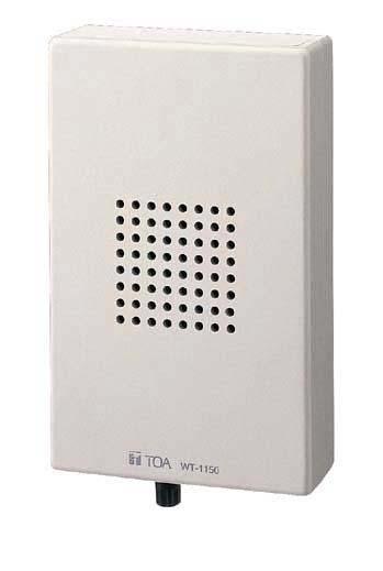【送料無料】[ WT-1150 ] TOA 300MHz帯 ワイヤレスガイドシステム ワイヤレススピーカー [ WT1150 ]
