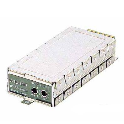 【送料無料】[ WTU-1710 ] TOA 800MHz帯 ワイヤレスチューナー(スピーチ・ボーカル)(WT-750B用) チューナーユニット [ WTU1710 ]