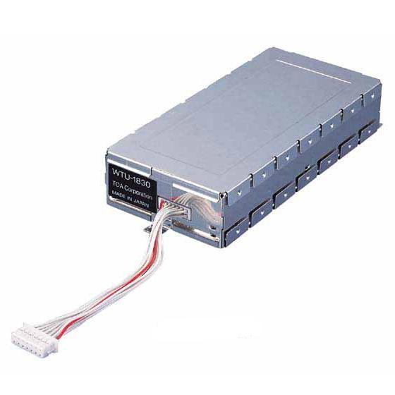 【送料無料】[ WTU-1830 ] TOA 800MHz帯 ワイヤレスチューナー(スピーチ・ボーカル)用 増設チューナーユニット [ WTU1830 ]