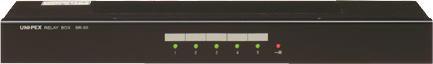 [ BR-50 ] UNIPEX ユニペックス マイクロホン リモートマイク関連機器 5回線リレーボックス [ BR50 ]
