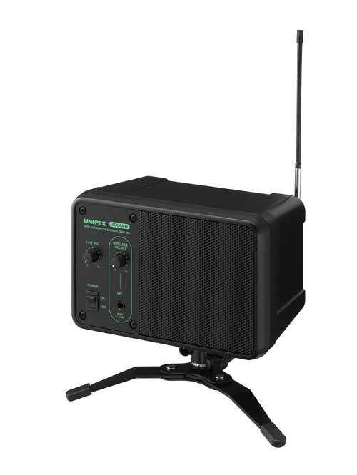 [ WAS-05A ] UNIPEX ユニペックス ワイヤレスシステム 300MHz帯 ワイヤレスモニタースピーカー(専用スタンド付) [ WAS05A ]