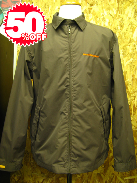 tas sport nylon jacket B.brown 【XL】