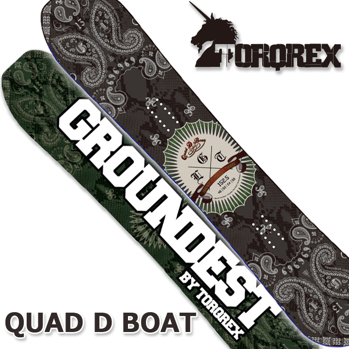 TORQREX トルクレックス GROUNDEST LIMITED QUAD D BOAT クアッドディーボート 17-18 送料無料 30%OFF