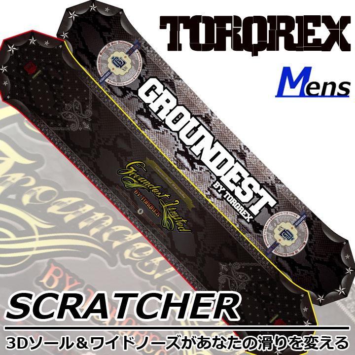 TORQREX トルクレックス GROUNDEST LIMITED SCRATCHER スクラッチャー 17-18 送料無料 割引中