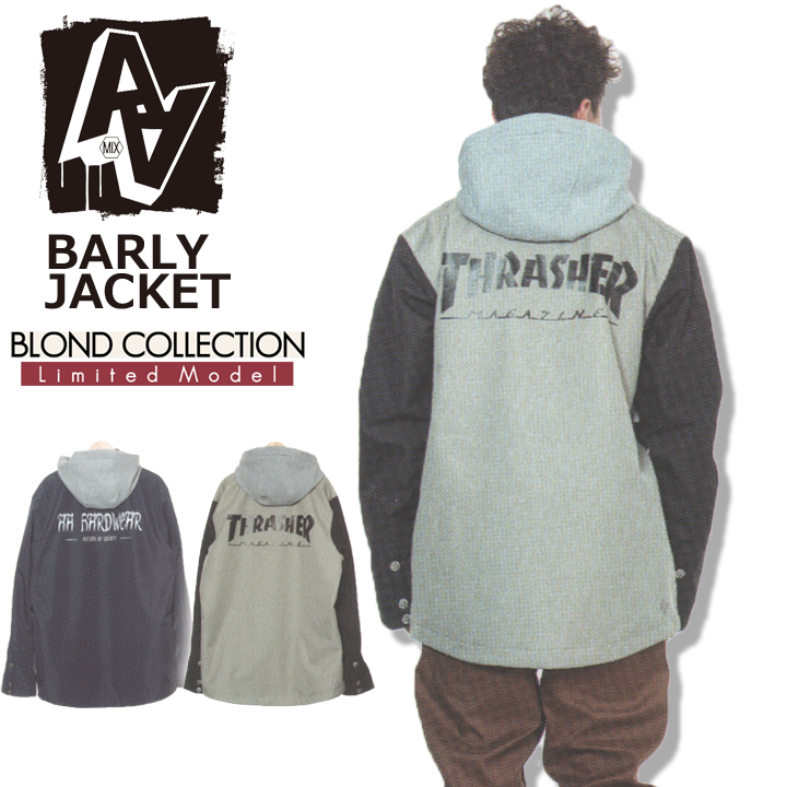 18-19 AA ダブルエー BARLY JACKET BLOND COLLECTION バーリージャケット ブロンドコレクション 送料無料 20%OFF 即出荷