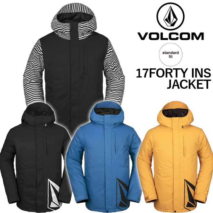 19-20 VOLCOM ボルコム 17FORTY INS JACKET セブンティーンフォーティーインスジャケット MENS メンズ 国内正規品 送料無料 予約商品