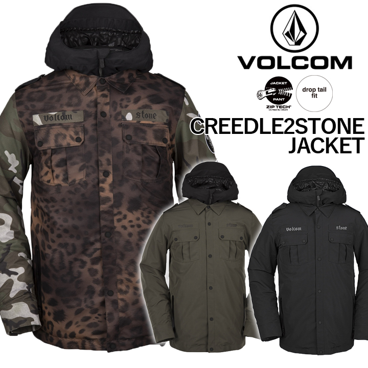 19-20 VOLCOM ボルコム CREEDLE2STONE JACKET クリードルツーストーンジャケット MENS メンズ 国内正規品 送料無料 予約商品