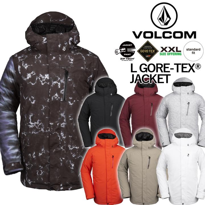 19-20 VOLCOM ボルコム L GORETEX JACKET エルゴアテックスジャケット MENS メンズ 国内正規品 送料無料 即出荷
