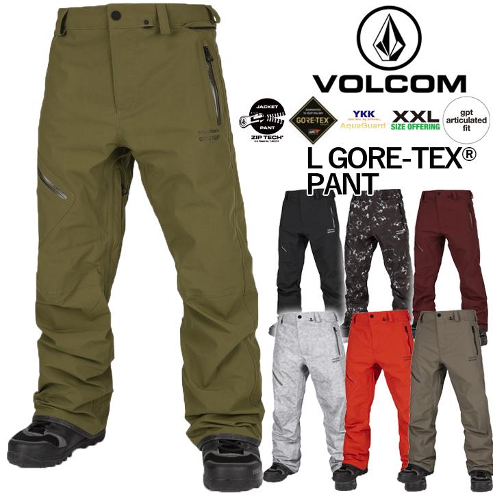 19-20 VOLCOM ボルコム L GORETEX PANT エルゴアテックスパンツ MENS メンズ 国内正規品 送料無料 予約商品